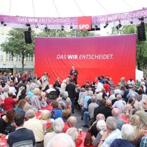 Über 1.000 Besucher bei regionalen Wahlkampfauftakt