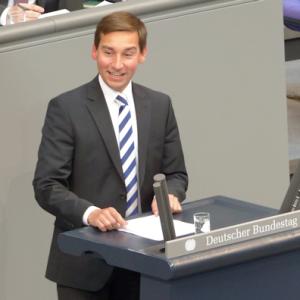 Sebastian Hartmanns erste Rede im Bundestag